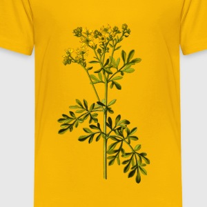Common rue (detailed) - Toddler Premium T-Shirt