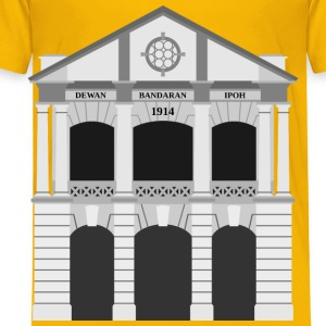 Ipoh City Hall Building (middle) - Toddler Premium T-Shirt