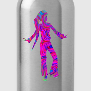 Colourful disco dancer - Water Bottle