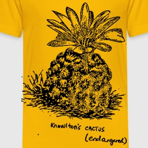 Knowltons Cactus (endangered) - Toddler Premium T-Shirt