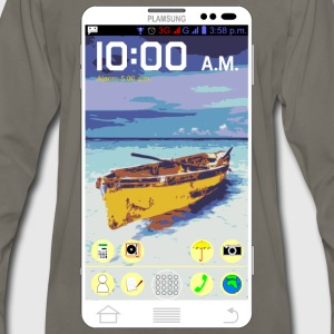 ANDROID PHONE - Men's Premium Long Sleeve T-Shirt