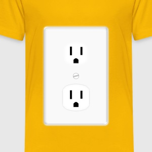 Duplex Socket (USA) - Toddler Premium T-Shirt