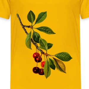 Sour cherry tree 2 (low resolution) - Toddler Premium T-Shirt