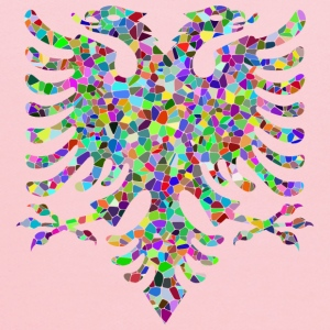 Prismatic Tiled Double Headed Eagle - Kids' Hoodie