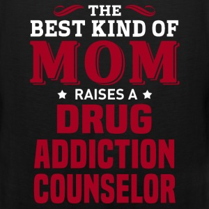 Drug Addiction Counselor MOM - Men's Premium Tank