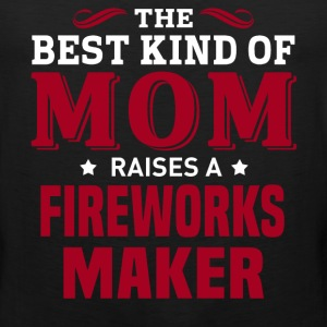 Fireworks Maker MOM - Men's Premium Tank