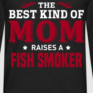 Fish Smoker MOM - Men's Premium Long Sleeve T-Shirt