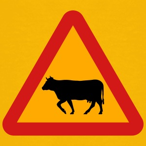 Warning Cows Roadsign - Toddler Premium T-Shirt