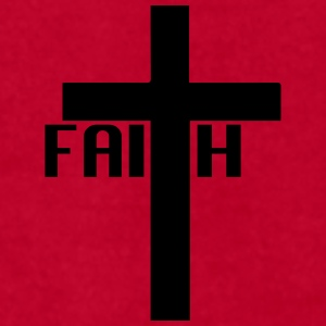 FAITH cross Mugs & Drinkware - Men's T-Shirt by American Apparel
