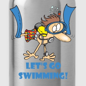 Swimming - Let's go swimming! - Water Bottle