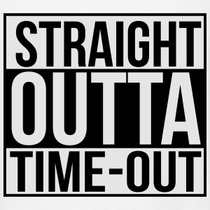 Straight outta time-out Baby Bodysuits - Men's T-Shirt