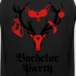 Stag night Bachelor Support Team party T-Shirt - Men's Premium Tank