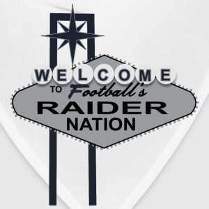 Welcome Raider Nation Mugs & Drinkware - Bandana