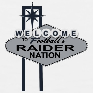 Welcome Raider Nation Mugs & Drinkware - Men's Premium Tank