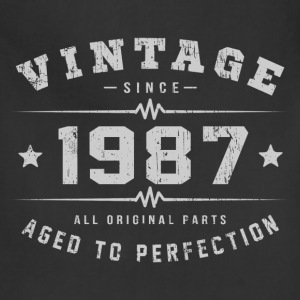1987 Aged To Perfection T-Shirts - Adjustable Apron