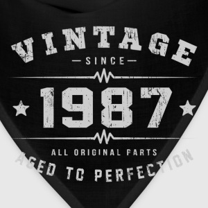 1987 Aged To Perfection T-Shirts - Bandana