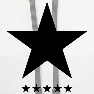 Blackstar, Black Star, Music, Hero, Bowie, Rebel  - Contrast Hoodie