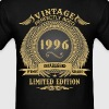 Vintage Perfectly Aged 1996 Limited Edition T-Shirts - Men's T-Shirt
