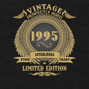 Vintage Perfectly Aged 1995 Limited Edition Mugs & Drinkware - Men's T-Shirt