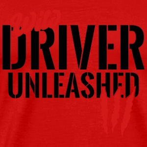wild driver unleashed Long Sleeve Shirts - Men's Premium T-Shirt