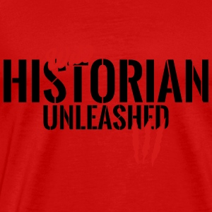 wild historian unleashed Tanks - Men's Premium T-Shirt