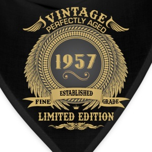 Vintage Perfectly Aged 1957 Limited Edition T-Shirts - Bandana