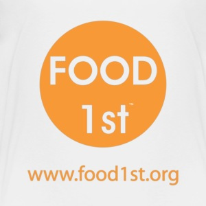 Food 1st - Front, orange Kids' Shirts - Toddler Premium T-Shirt