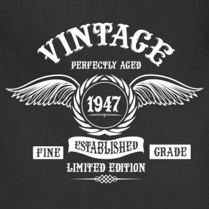 Vintage Perfectly Aged 1947 T-Shirts - Adjustable Apron