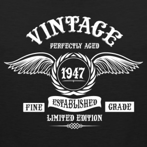 Vintage Perfectly Aged 1947 T-Shirts - Men's Premium Tank