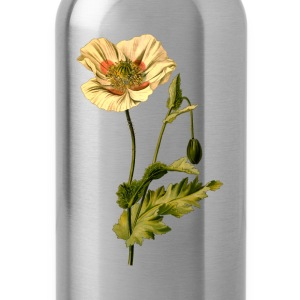 Opium poppy (detailed) - Water Bottle