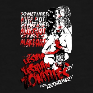 Lesbian Zombies from Outer Space mug - Men's Premium T-Shirt