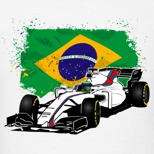 Formula One - Formula 1 - Brazil Flag Hoodies - Men's T-Shirt