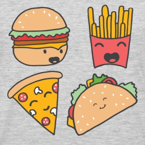 fast food friends - Men's Premium Long Sleeve T-Shirt