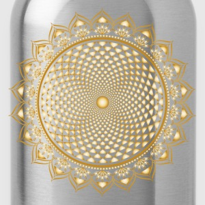 Lotus Chakra, Yoga, Buddhism, Meditation, Om T-Shirts - Water Bottle