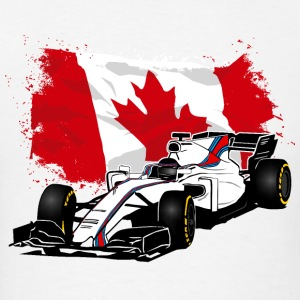 Formula One - Formula 1 - Canada Flag Hoodies - Men's T-Shirt