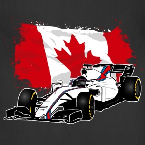 Formula One - Formula 1 - Canada Flag T-Shirts - Adjustable Apron