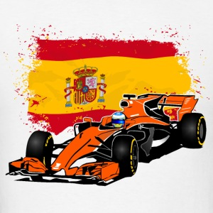 Formula One - Formula 1 - Spain Flag Hoodies - Men's T-Shirt