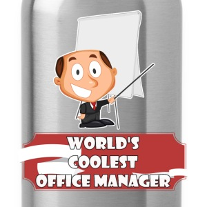 Office Manager - World's coolest Office Manager - Water Bottle