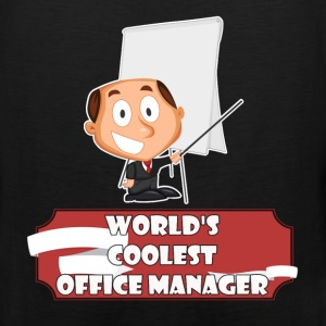 Office Manager - World's coolest Office Manager - Men's Premium Tank