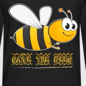 Bees - Save the bees - Men's Premium Long Sleeve T-Shirt