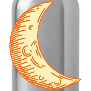 Crescent moon - Water Bottle