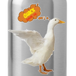 Duck - Quack save us... - Water Bottle