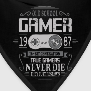 Old School Gamer 1987 Birthday T-Shirts - Bandana