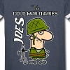 Joes: The Cold War Diaries - Vintage Sport T-Shirt