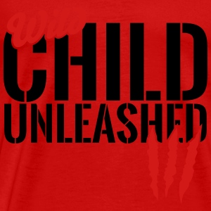 wild child unleashed Tanks - Men's Premium T-Shirt
