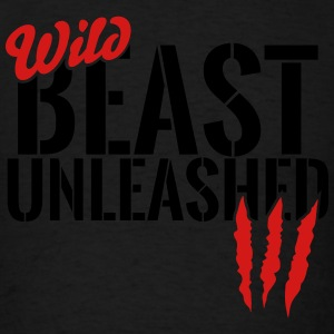 wild beast unleashed Tanks - Men's T-Shirt