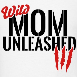 wild mom unleashed Tanks - Men's T-Shirt