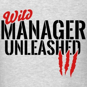 wild manager unleashed Tanks - Men's T-Shirt