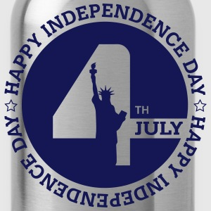 July 4th - Independence Day T-Shirts - Water Bottle