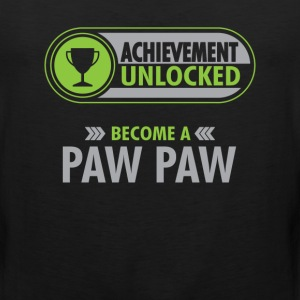 Paw Paw Achievement Unlocked T-Shirt T-Shirts - Men's Premium Tank